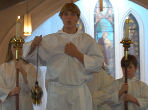 picture of Thurifer and Acolyte