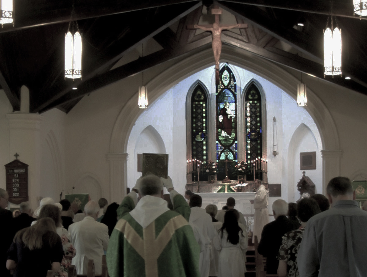 Picture of our church processional