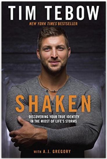 Shaken book cover.