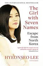 The Girl With Seven Names book cover.