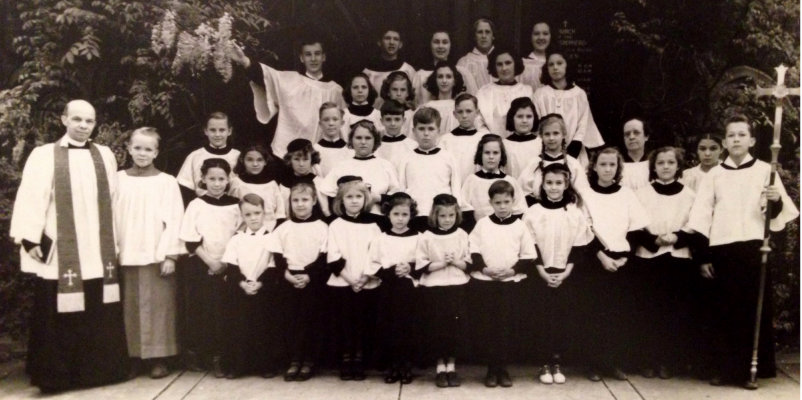 1939 picture Good Shepherd's Sunday School Choir