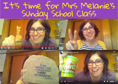 Online Mrs Melanies childrens Sunday school