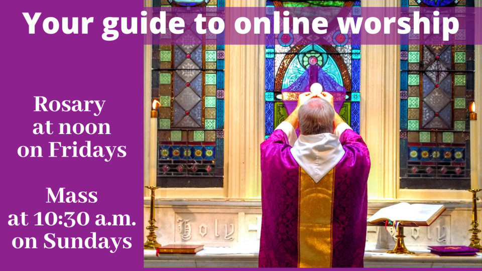 Online Worship Lent Eucharist