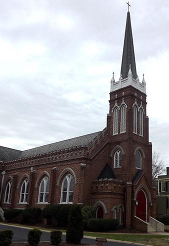 Good Shepherd Church on Blanding St.